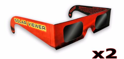 X2 Solar Eclipse Glasses Sun Shades thousand Oaks Optical Black Fiter