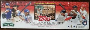 2012-Topps-Factory-Set-Fenway-Dirt-660-Cards-w-2-Bryce-Harper-RC-039-s-Nice