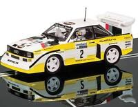 Scalextric Audi Sport Quattro E2 1985 Rac Rally Slot Car 1/32 C3634 on sale