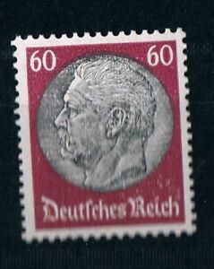 526-Hindenburg-60-Pf-postfrisch-Wz-4-tadellos-mit-Originalgummi