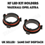 DEL H7 Kit de Conversion Ampoule titulaires Vauxhall Opel Astra G nighteye DEL Adaptateurs