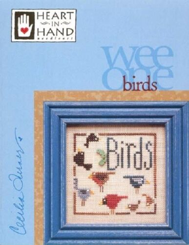 Wee Ones Counted Cross Stitch Charts by Heart in Hand Needleart