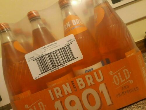 12 Irn Bru 1901 Full Sugar No Sweetners Limited Edition CRATE FREE DELIVERY 24HR