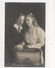 Prinz Joachim & Victoria Luise 1907 RP Postcard Germany Royalty 047b