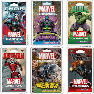 Marvel-Champions-Card-Game-Hero-Packs-Scenario-Pack-New-and-Sealed