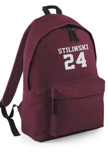 Beacon Hills Lacrosse Stilinski Backpack Rucksack School College Work Bag canvas