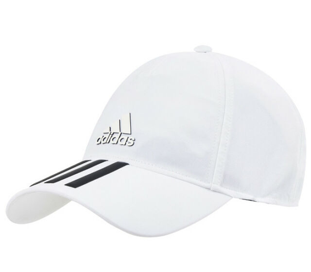 01c39991 adidas C40 Training Cap Climalite Tennis Hat Unisex UV Protection White  CG1782