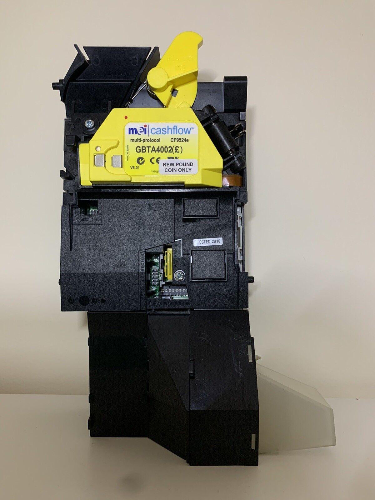 Mei DES Cashflow CF9524E Fruit Machine Coin Acceptor Mechanism Updated