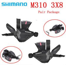 1 Pair 3x8 Speed MTB Bicycle Left Right Shifter for Shimano Acera SL-M310 Proper
