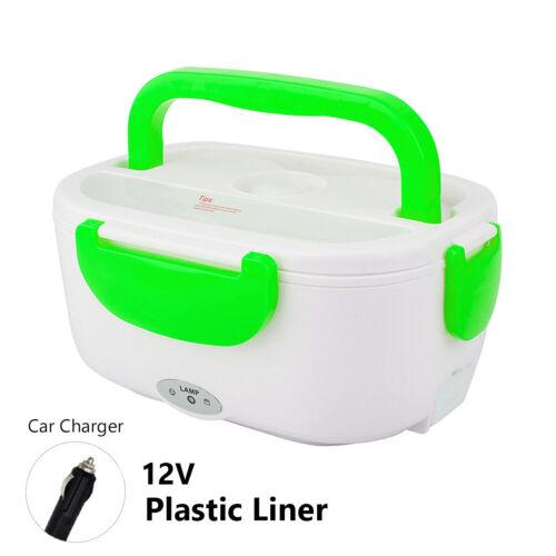 Electric Heated Lunch Box Fast Heating Car Home Portable Food Warmer Heater DD2