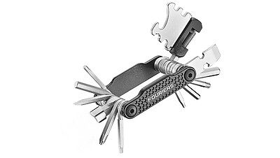 12 in 1 Bicycle Bike Multi Function Porous Flat Steel Wrench Tool Kits 7-24MM