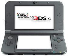 The *NEW* 2014 Nintendo 3DS XL Console Metallic Black PAL / C Stick + Dock NEW