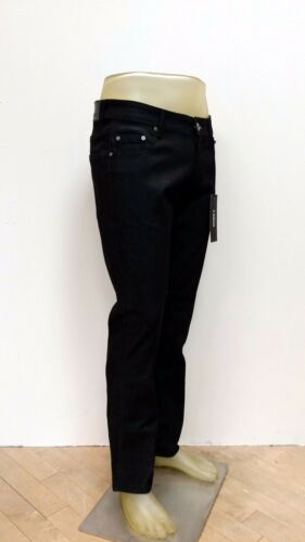 Kayden K Men/'s Slim Fit Stretch Jeans Raw Denim Pants SS101