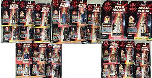 Star Wars Episode 1 Un 26 Figurines Yoda R2-d2 R2-b1 Obi-wan Quigon Darth Sidious