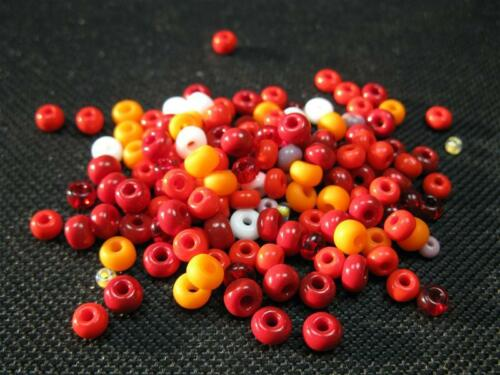 Böhmischer Rocailles Mix 25g 2,0-3,5mm Perlen 492