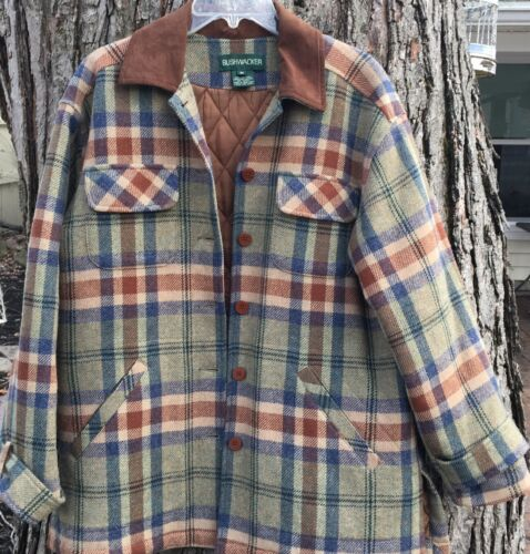 Women's Bushwacker Safari Jacket Wool Shirt Top Pl