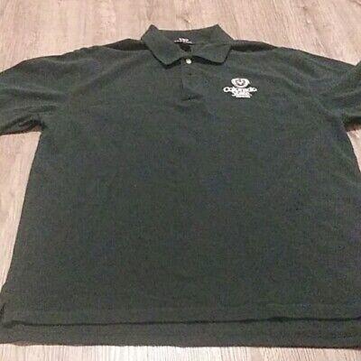 New Colorado State Rams Men's Polo Shirt Size Medium CSU Green Embroidered Logo