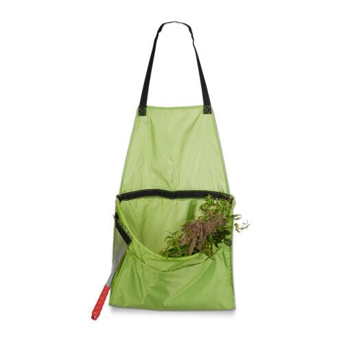 Ernteschürze für Unkraut /& Ernte einfaches Entleeren Gartenschürze Sammelschürze