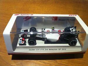 Spark Sauber C31 Perez Malaisie Malaysian Gp 1/43 S3033