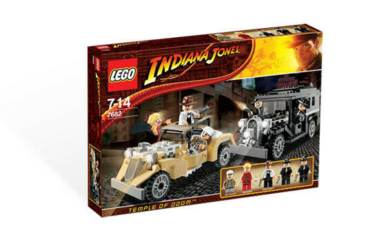 BRAND NEW LEGO Indiana Jones Shanghai Chase 7682