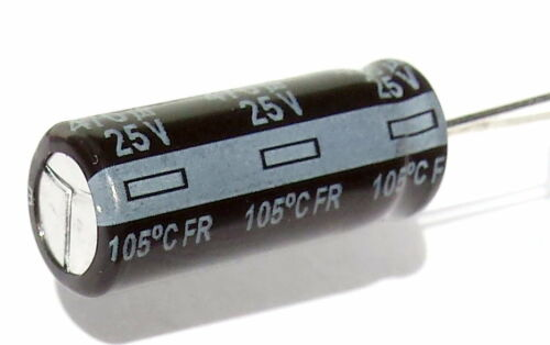 JAPAN Low ESR--ref:293 470uF 25v 105C 5 pcs Panasonic FR