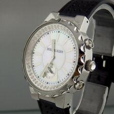 Dyrberg/Kern Uhr mit Swarovskikristallen aus Edelstahl