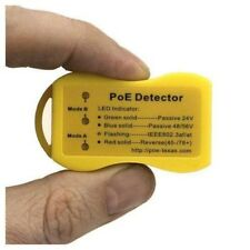 Power over Ethernet PoE Detector / Tester - indicates the type of PoE on a cable