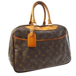 LOUIS-VUITTON-DEAUVILLE-BUSINESS-HAND-BAG-PURSE-MONOGRAM-VI1914-M47270-A54474