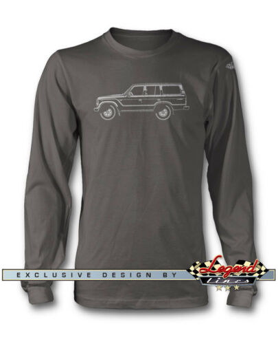 Toyota BJ60 FJ60 Land Cruiser manches longues T-Shirt-plusieurs tailles et couleurs