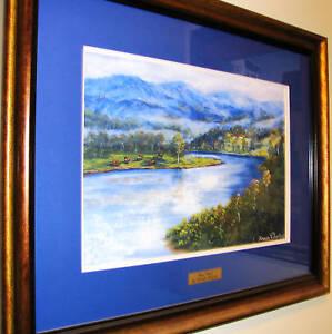 Brenda-Roberton-pastel-titled-039-River-Bend-039-Excellent-Australian-Painting