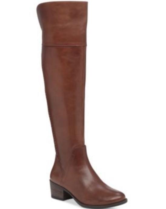 caldo Vince Camuto Bendra Over Knee Marrone Marrone Marrone Leather Donna  avvio Sz 7.5 3061   vendita calda