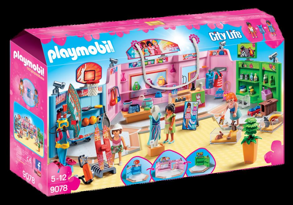Playmobil 9078 - Shopping Plaza - NEW