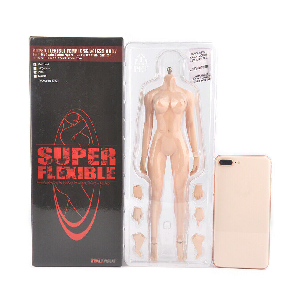 PLMB 2017-S22A Mediano Busto pálido Tbleague Phicen Desnudo Femenino Cuerpo Femenino Muñeca 1 6