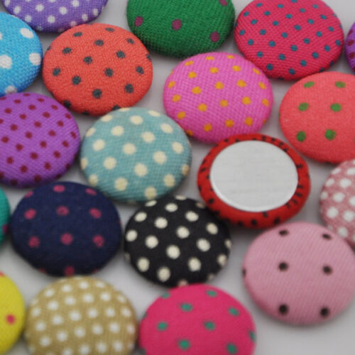 15 mm Fancy Lovely Mini Dot Button Sewing Appliues doll Flatback buttons CT04