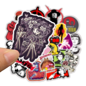 50-pelicula-StickerBomb-horror-retrostickern-Pegatina-Sticker-Mix-Decals-roja-anime