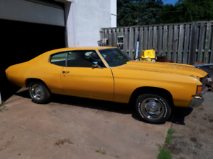 1972 Chevelle for sale.