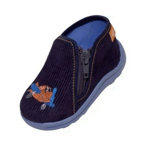 EUR 20-26 FIRST SHOES UK 3-8 NURSERY SLIPPERS BABY BOYS CANVAS SHOES