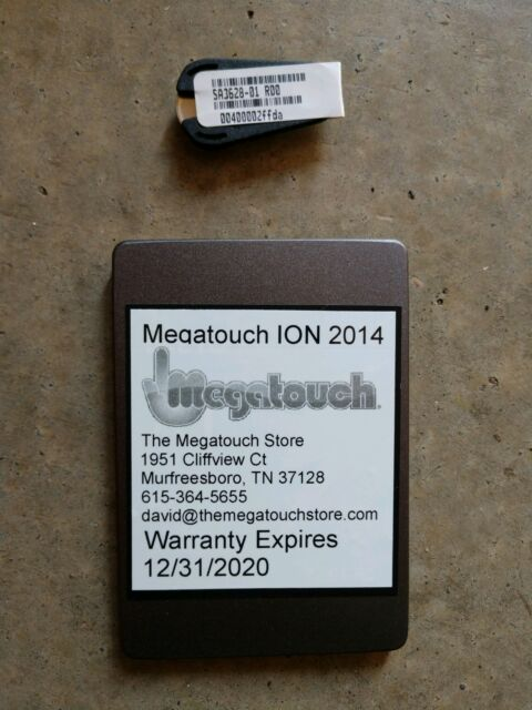 Merit Megatouch 2014 Hard drive/Upgrade/Update Kit Key '14 Aurora Rx ION EVO