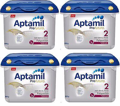 Ordentlich Milupa Aptamil Profutura 2 Ab 6 Monat 1 Jahr Haltbar Ab Kaufdatum 04x 800g.. Ernährung Baby