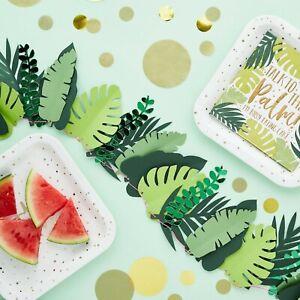 Tropical-Leaf-Garland-Hawaiian-Summer-Time-Party-Backdrop-Aloha-Venue-Deco