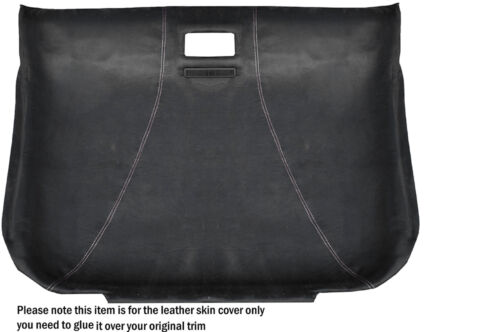 White stitch doublure du toit Tartit alcantara peau couvrir fits Audi TT Mk1 98-06
