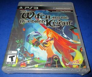 Witch-and-the-Hundred-Knight-Sony-PlayStation-3-w-Soundtrack-Sealed-Free-Ship