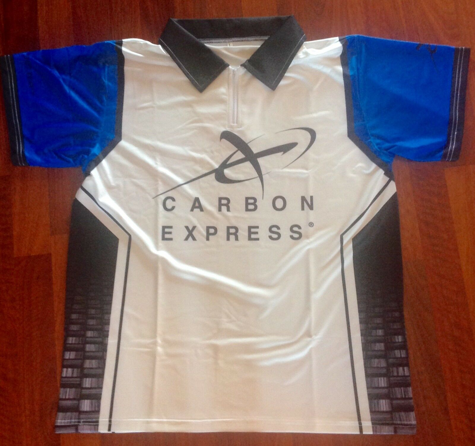 NEW CARBON EXPRESS ARCHERY SHOOTER SHIRT, SIZE LARGE