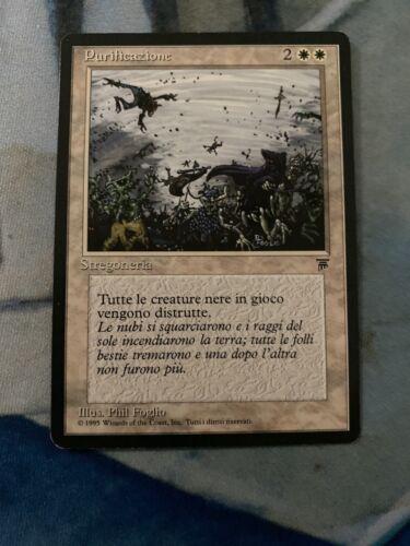 MTG Cleanse Italian Legends Purificazione Banned Card
