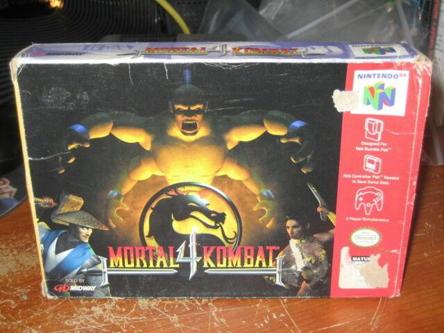 Play Mortal Kombat 4 Online N64 Game ROM - Nintendo 64 Emulation on Retro  Game Room