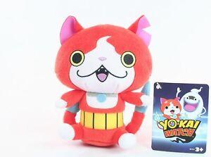 YO-KAI-WATCH-plush-JIBANYAN-8-034-soft-toy-cat-game-NEW