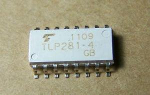10pcs TLP281-4GB SOP-16 PHOTOCOUPLER GaAs IRED /& PHOTO-TRANSISTOR new