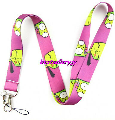 Lot 10Pcs Fuchsia Zombies Neck mobile Phone lanyard Keychain straps charms Gifts