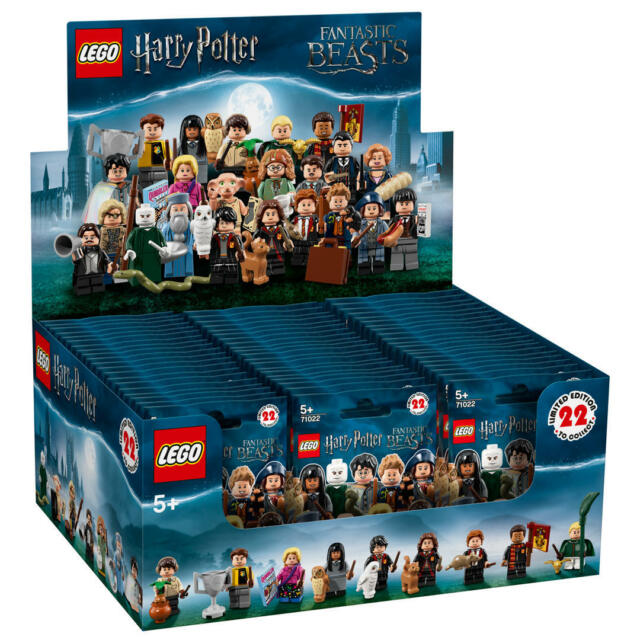 Lego 71022 Harry Potter Packet Opened To Identify Content New