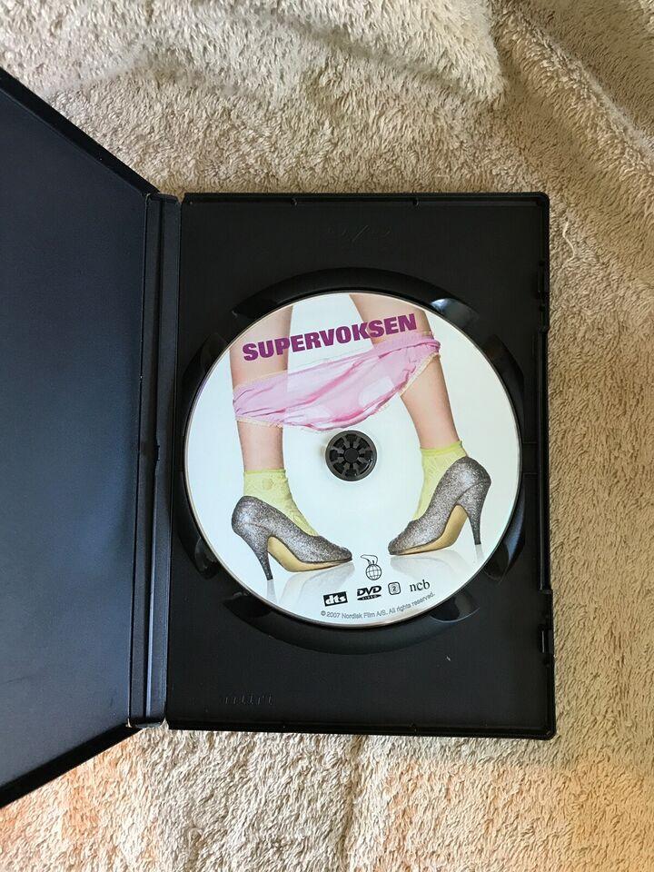 Supervoksen , instruktør Christina Rosendahl , DVD